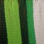 Rayas blancas y verdes